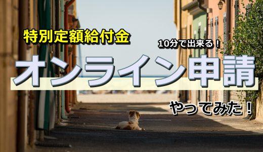 【画像付き解説】給付金(10万円)オンライン申請してみた!